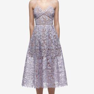 Self-Portrait Laelia guipure lace midi dress